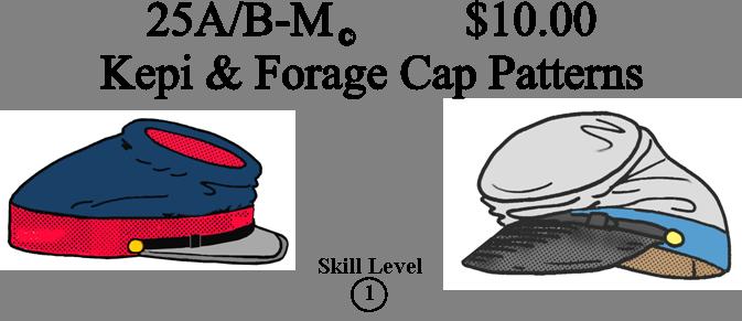 Mens Civil War Accessory Patterns